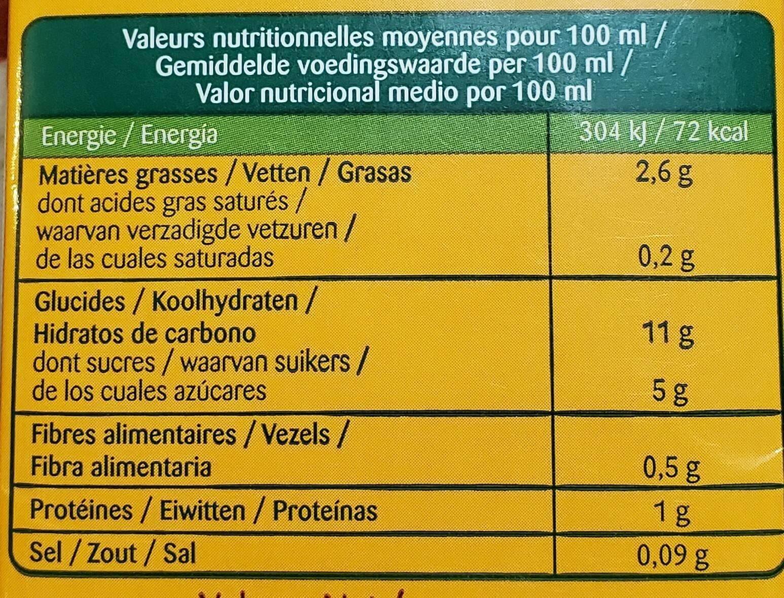 Riz épeautre amande - Voedingswaarden