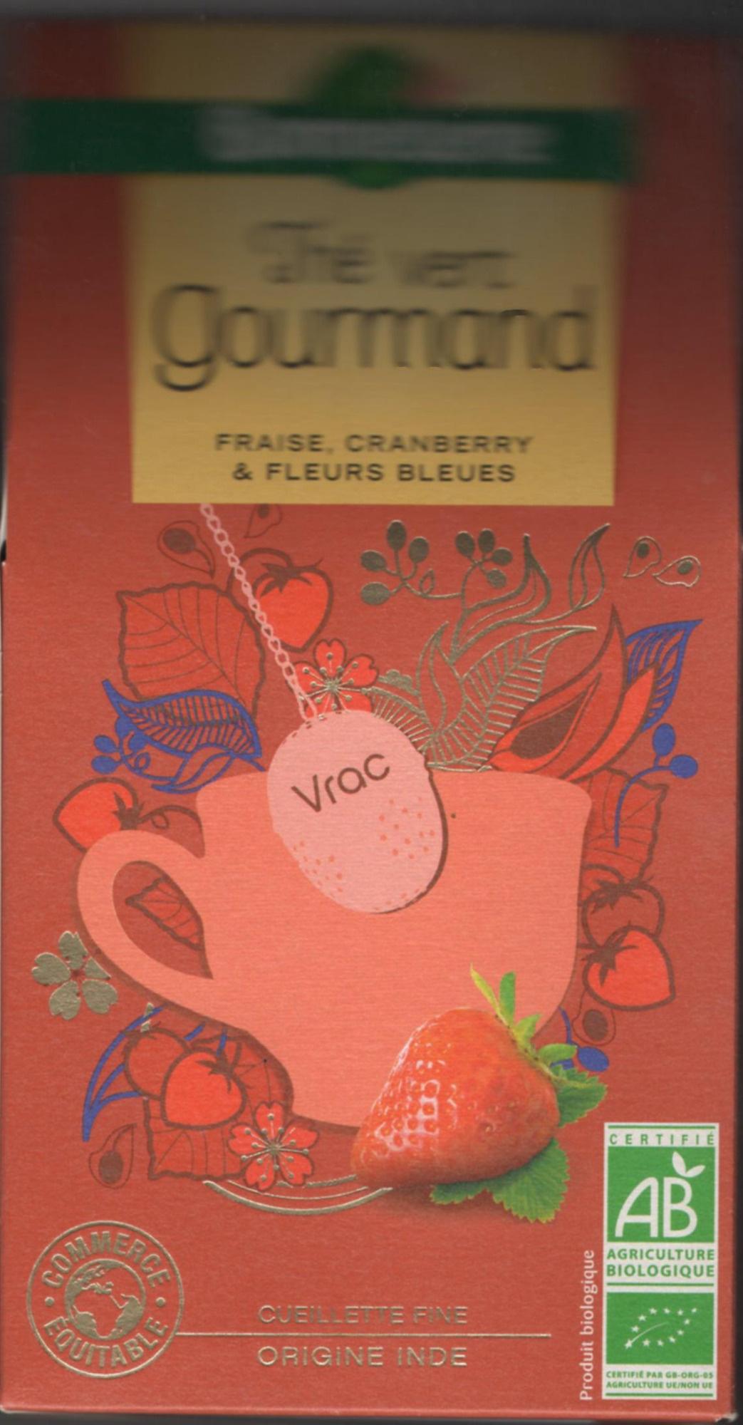 Thé vert gourmand - Produit - fr