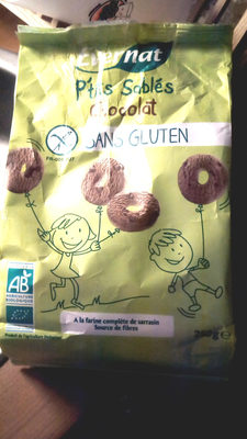 P'tits sablés Chocolat sans gluten - Produit - fr