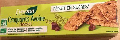 Croquants Avoine Chocolat - Product - fr