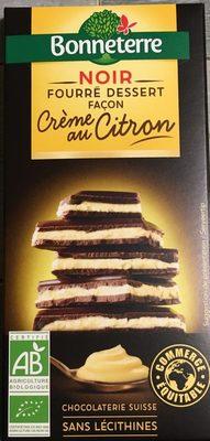Chocolat Noir Facon Creme Au Citron - Product