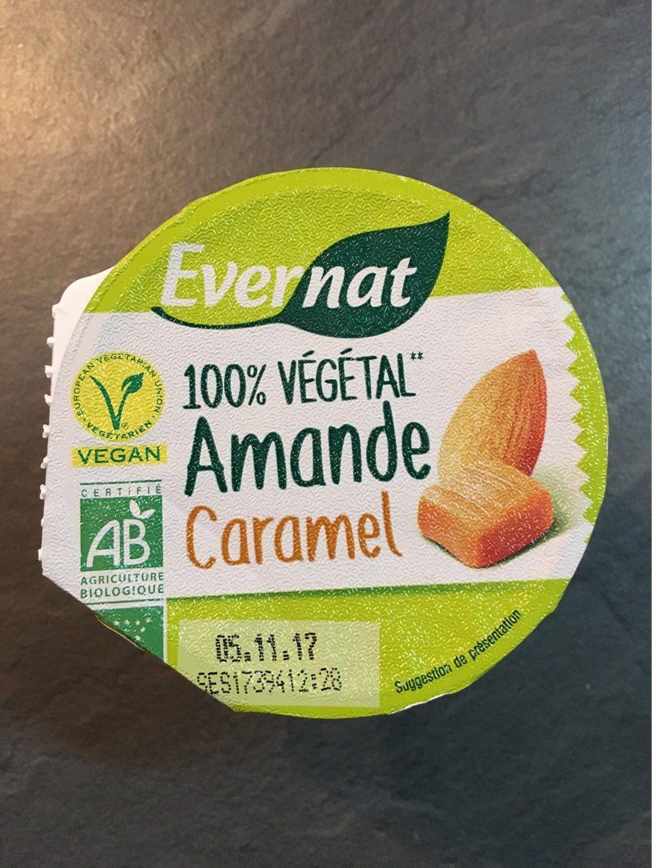 Yaourt Amande Caramel - Produit - fr