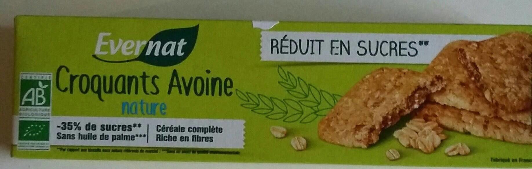 Croquants Avoine nature - Product