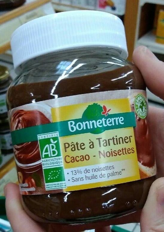 Pâte à tartiner cacao noisette - Produit - fr