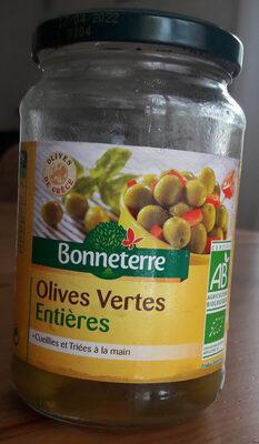 Olives Vertes Entieres - Product - fr