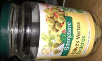 Olives Vertes Entieres - Ingredients - fr