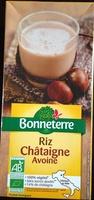 Boisson riz châtaigne avoine - Produit