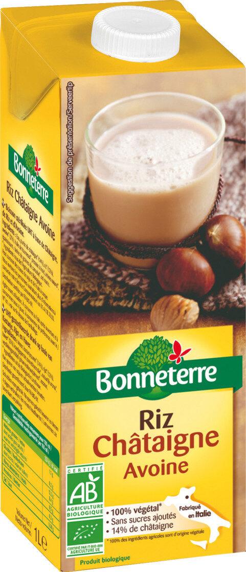Boisson riz châtaigne avoine - Product - fr