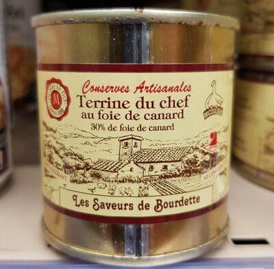 Terrine du Chef au foie de Canard - Produit - fr