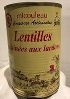 Lentilles Cuisinées aux Lardons - Product
