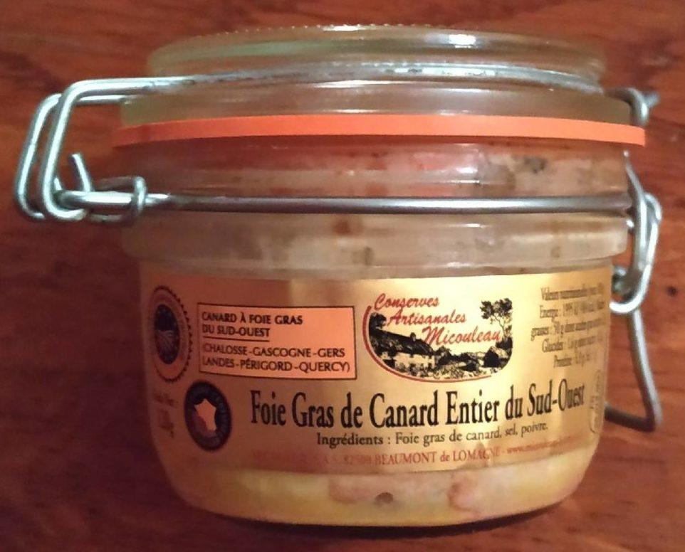 Foie gras de canard entier du sud ouest - Produit - fr