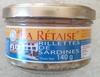 Rillettes de Sardines - Produit