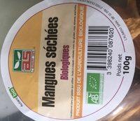 Mangues séchées - Ingrediënten - fr