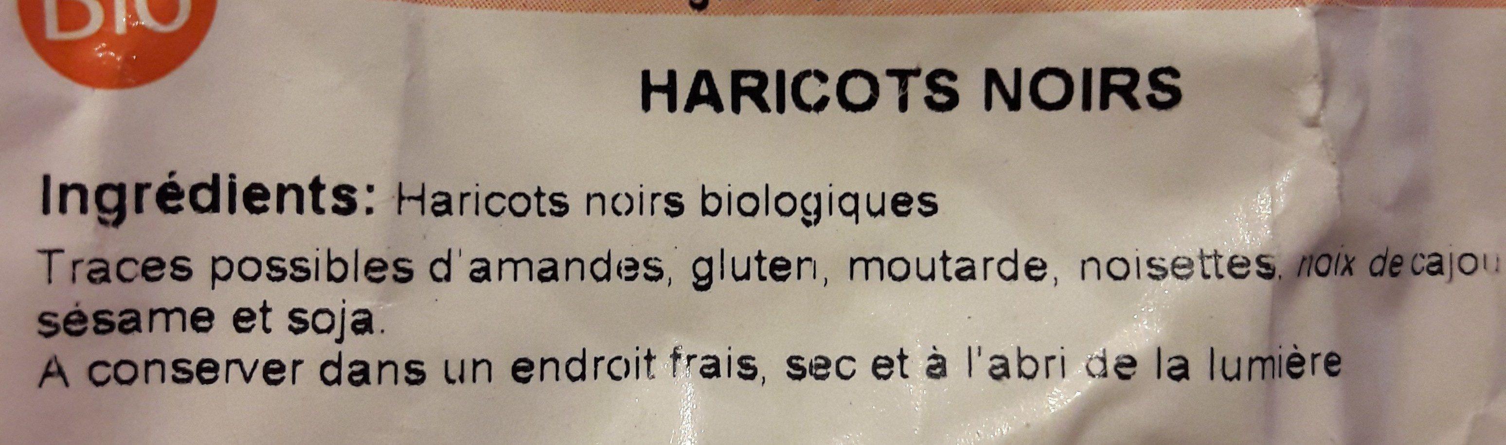 Haricots noirs - Ingrédients - fr