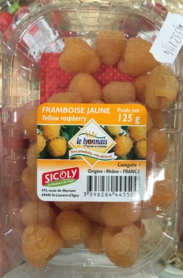 Framboise Jaune - Produit - fr