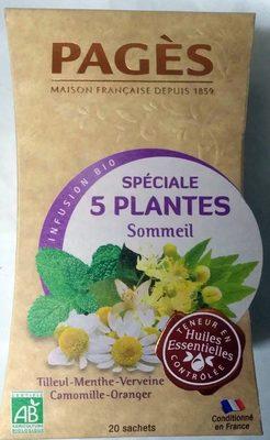 Infusion Bio Spéciale 5 Plantes - Produkt