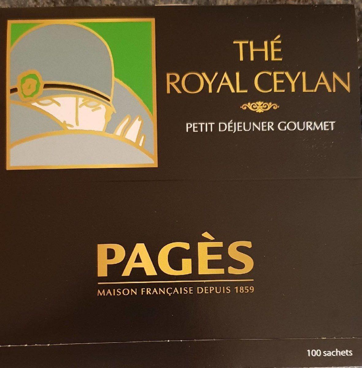 Thé royal Ceylan - Product