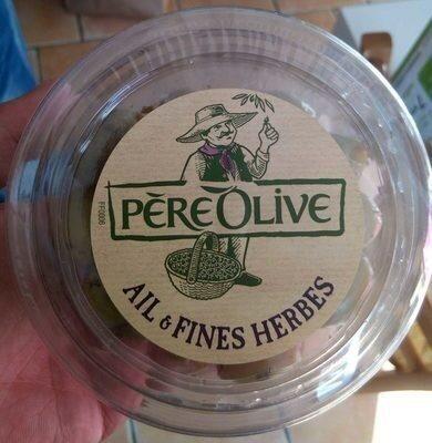 Olives Vertes Dénoyautées à l'Ail et aux Fines Herbes - Product - fr