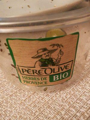 Olives vertes dénoyautées aux herbes de Provence - Produit - fr