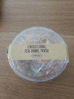 Lentilles corail, feta, orange, menthe - Product - fr