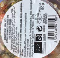 Salade de legume d'ete et quinoa bio - Ingrediënten