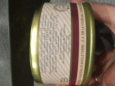 Paté Kadimah - 130 G - CLP - Ingrediënten - fr