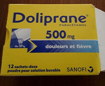 DOLIPRANE - Produit
