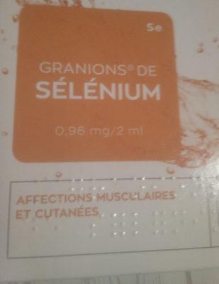 granions de sélénium - Produkt - fr