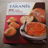 Mix pain et pâtisserie - Ingrédients - fr