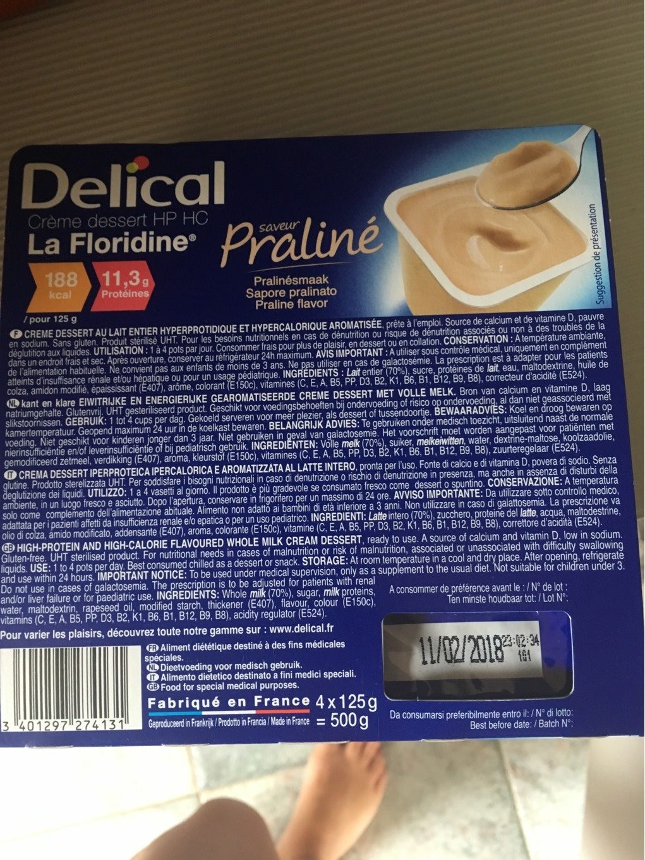 Creme dessert hp hc - Produit - fr