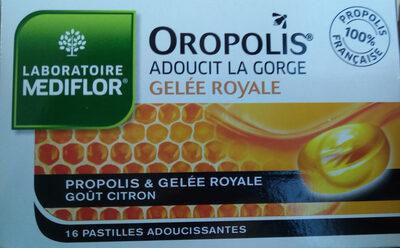 Mediflor Pastilles Adoucissantes Pour La Gorge Coeur Liquide Propolis & Gelée Royale - Product