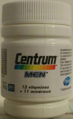 Centrum Men - Produit - fr