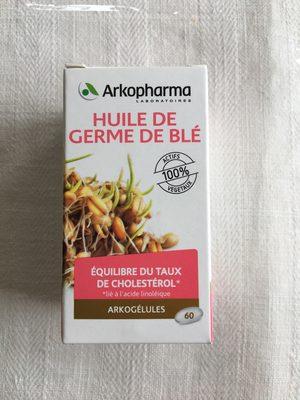 Huile de germe de blé - Product - fr