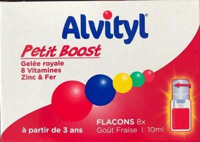 Alvityl Petit Boost 8 Flacons Goût Fraise 10ML - Produit - fr