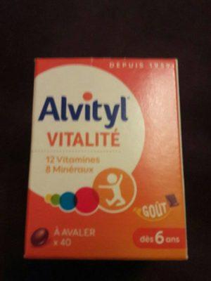 Alvityl Vitalité - Informations nutritionnelles