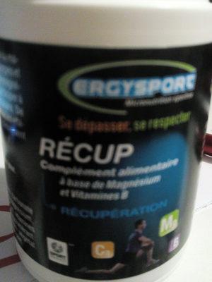 Ergysport Recup - 60 Gelules - Nutergia - Produit - fr