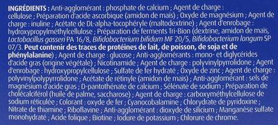 Complément alimentaire Bion3 - Ingrédients - fr