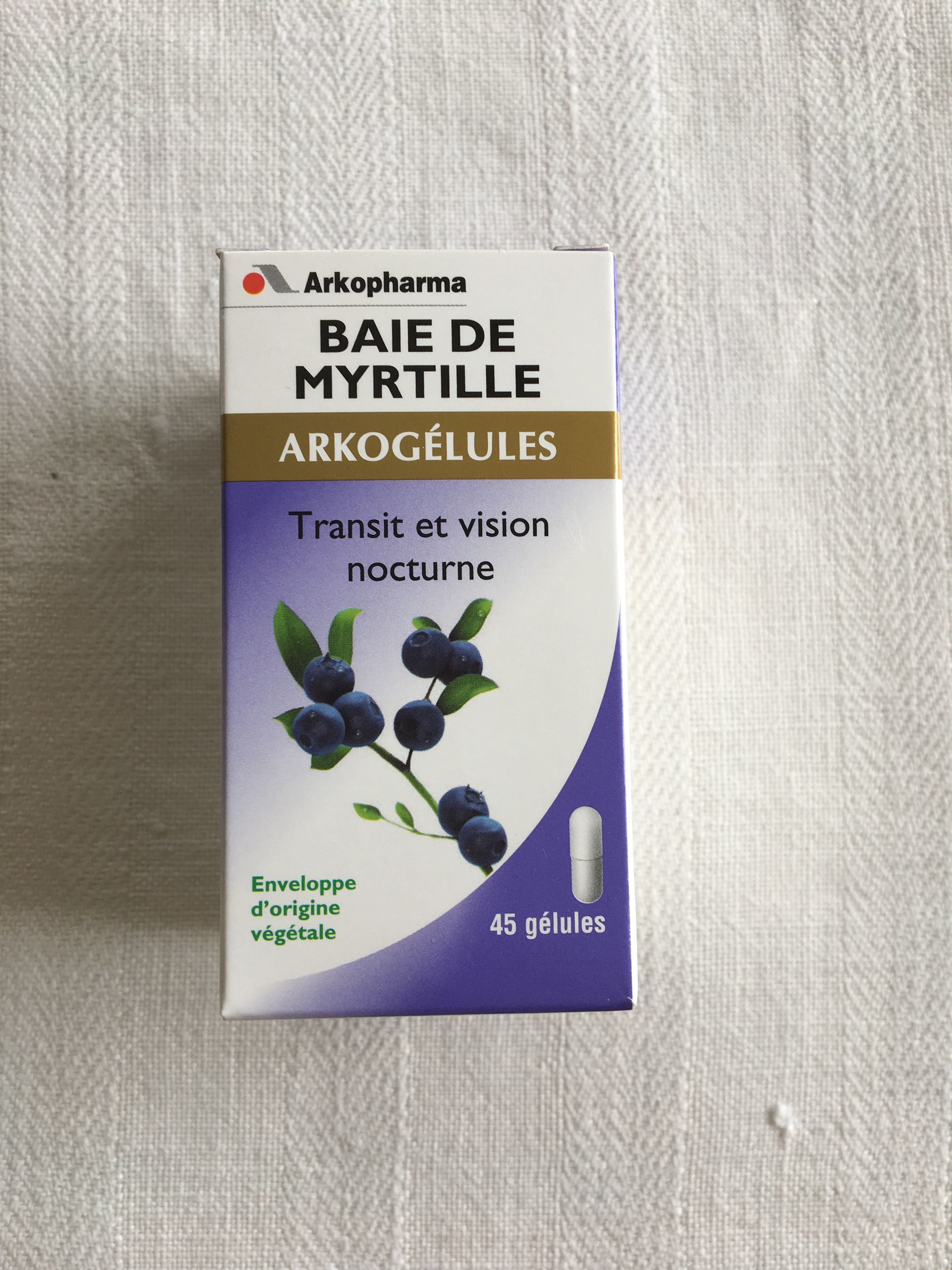 Baie de myrtille - Product - fr