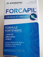 Forcapil Cheveux et Ongles - Produit - fr