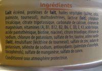 Novalac 3 Croissance - Ingrédients - fr