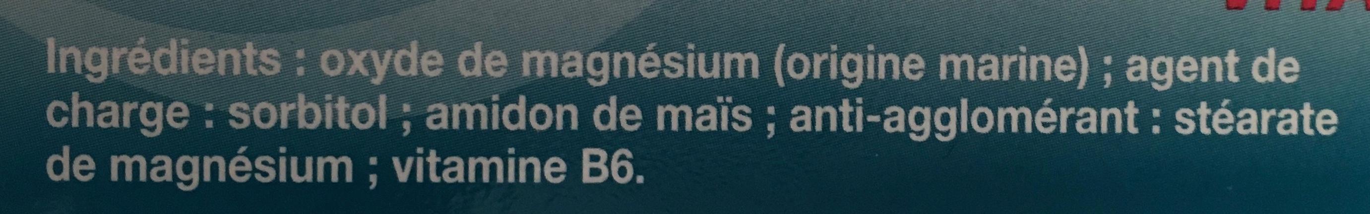 Magnésium - Ingrédients