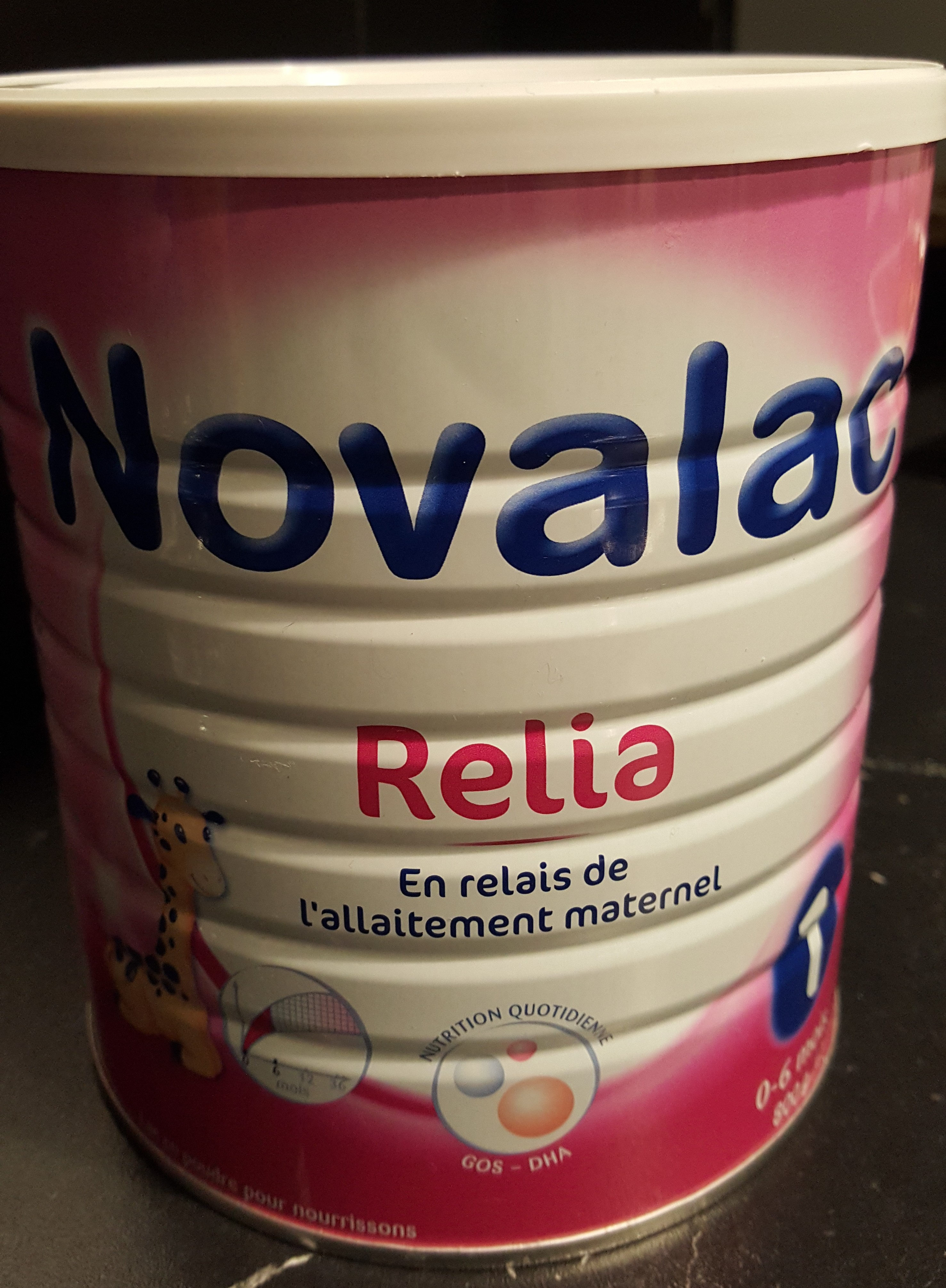 Novalac Relia 1ERAGE Lait - Produit