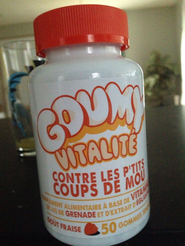 Goumy Vitalité Goût Fraise - Product