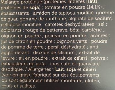 Protifast Veloutée Tomates - Ingredients