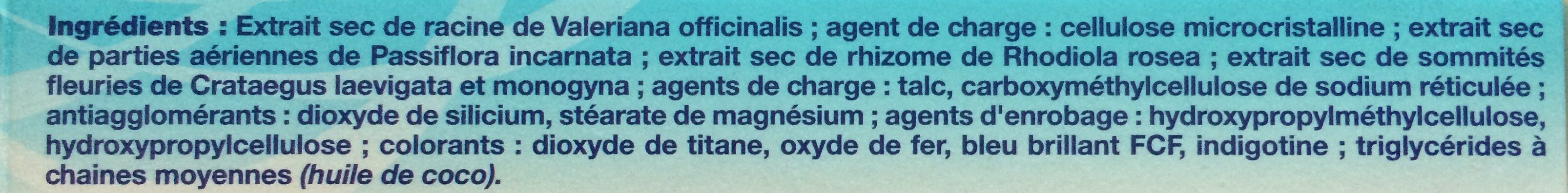 Govital Phyto-stress - Ingrédients - fr