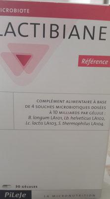 Pilèje Lactibiane Référence 30 Gélules - Produit