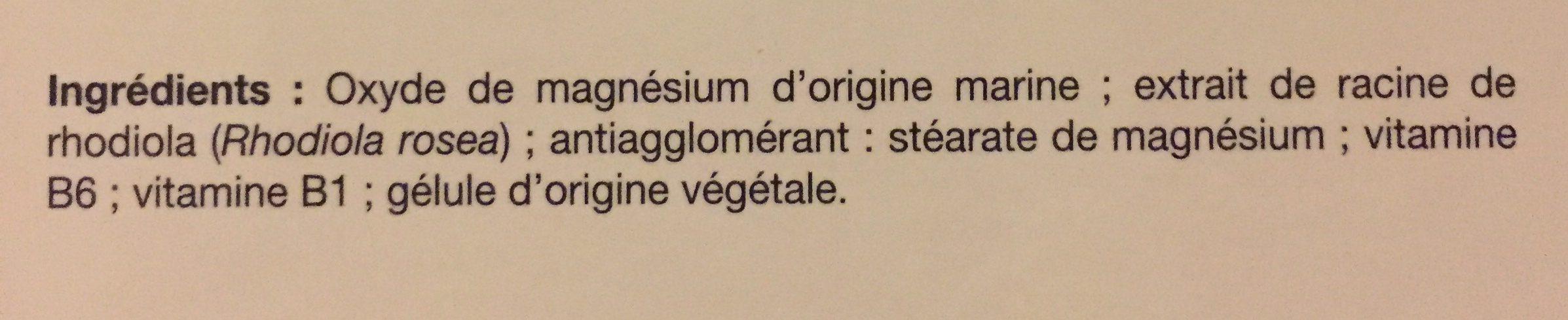 Magnésium Marin Stress - 30 Gélules - Biotechnie - Ingrédients - fr