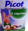 5 Légumes - Produit