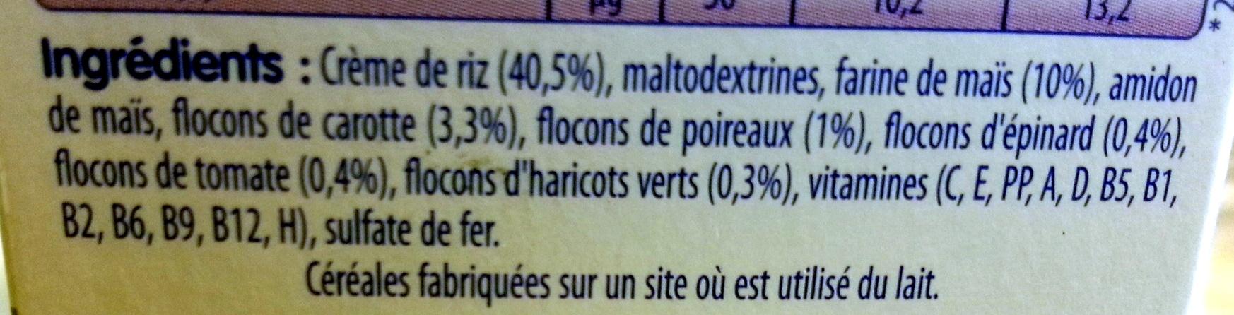 5 Légumes - Ingredienti - fr