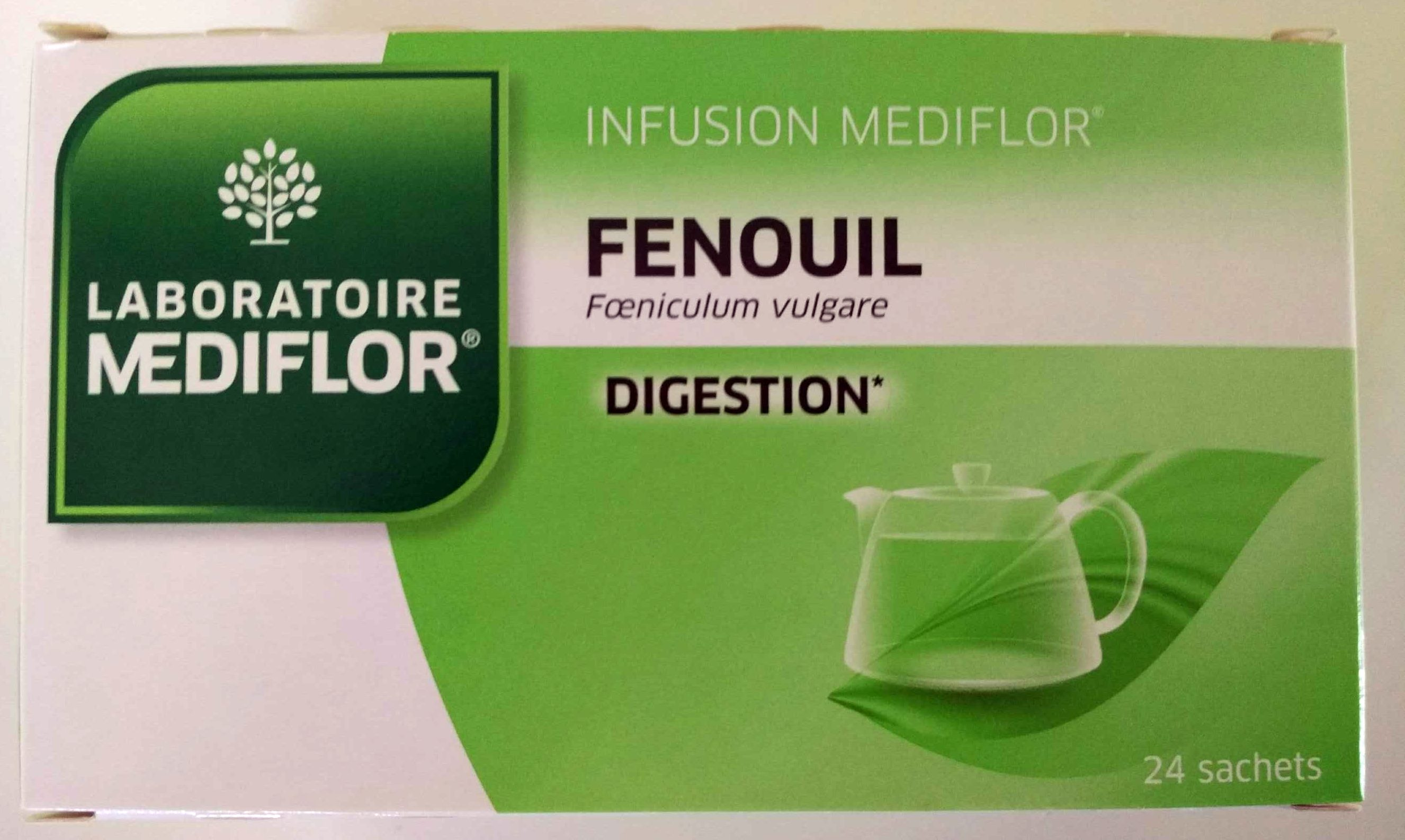 Médiflor Infusions Fenouil 24 Sachets - Product - fr